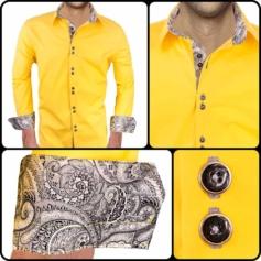 Bright Yellow Dress Shirts