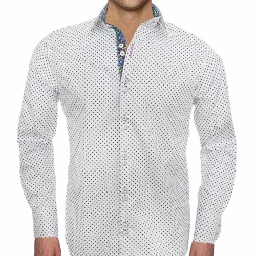 Fun Polka Dot Mens Shirts