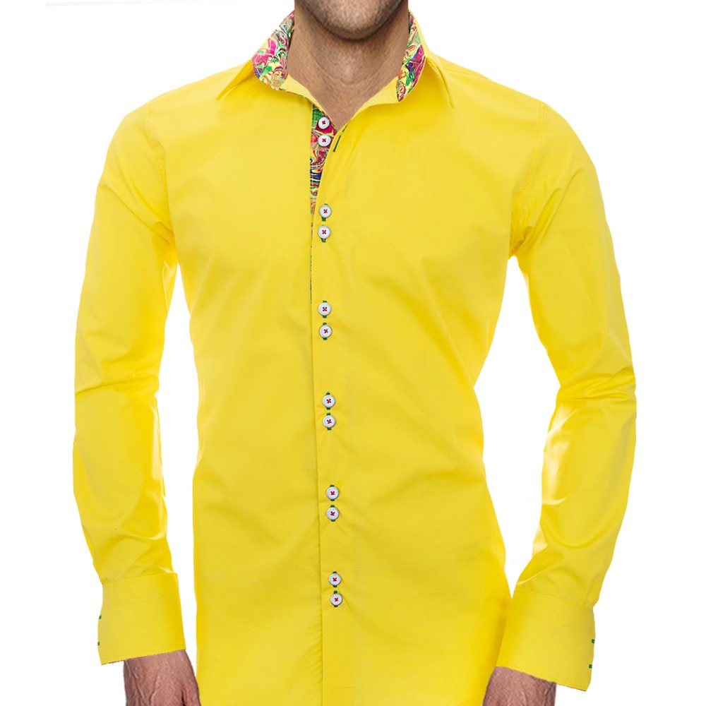 Bright Yellow Shirts