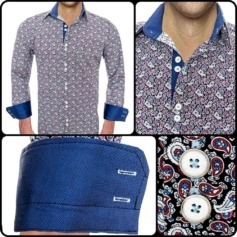 Cool Paisley Dress Shirts