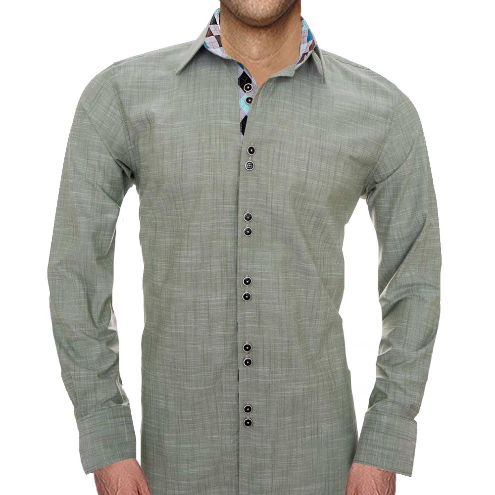 Retro Style Dress Shirts
