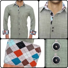 Retro Style Dress Shirts